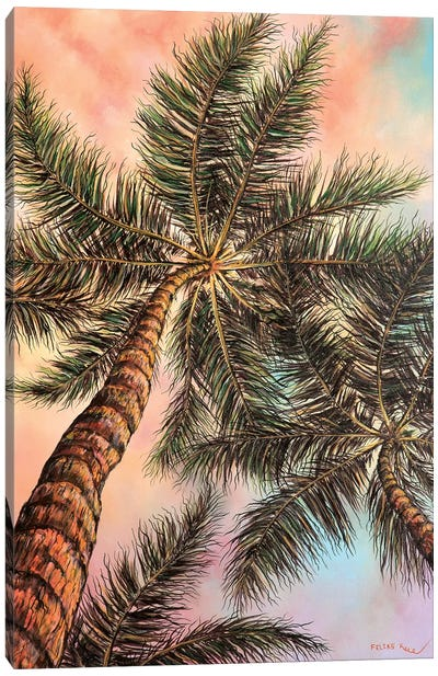 Keep Palm Canvas Art Print