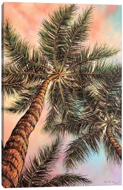 Keep Palm Canvas Art Print