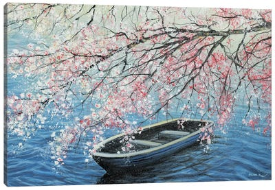 Cherry Blossoms Canvas Art Print