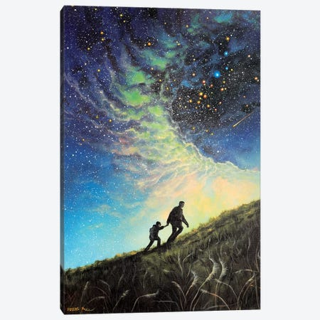 My Guiding Light Canvas Print #CBF39} by ColorByFeliks Canvas Print