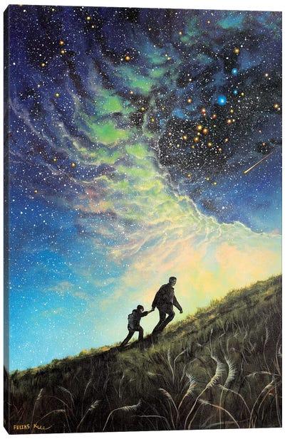 My Guiding Light Canvas Art Print