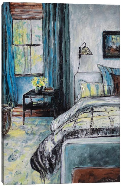 Half Awake Canvas Art Print