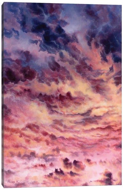 Hazy Day Canvas Art Print