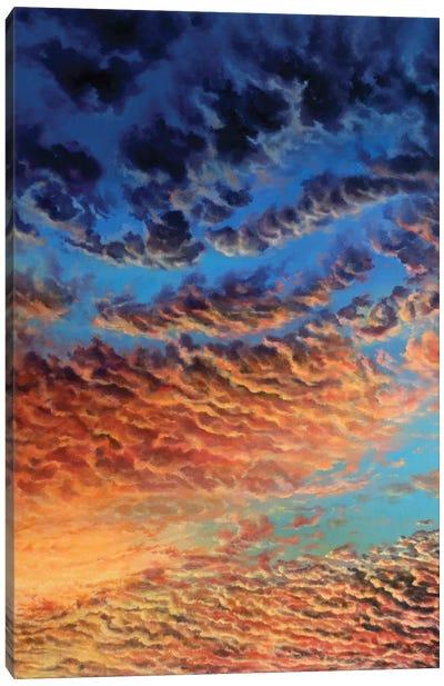 Heavenly Fire Canvas Art Print