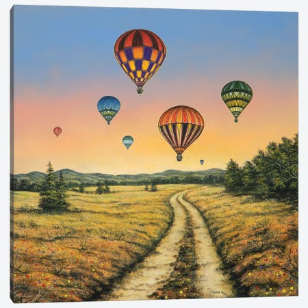 Field of Dreams Canvas Print #CBF5} by ColorByFeliks Canvas Artwork