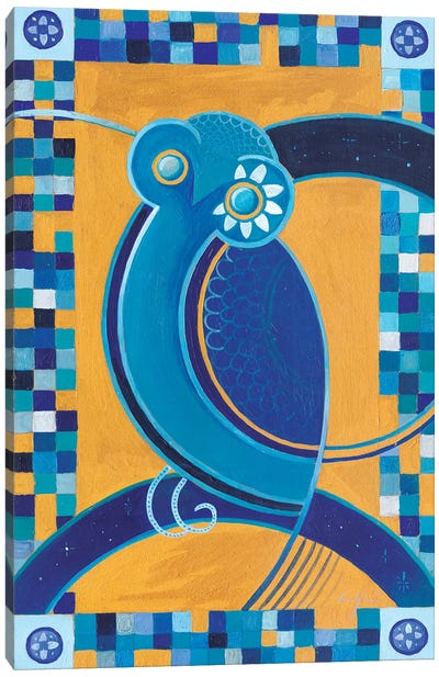 Hellenic Owl Canvas Art Print