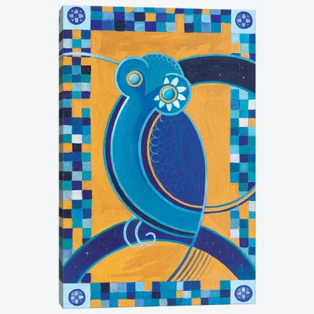 Hellenic Owl Canvas Print #CBG12} by Martin Cambriglia Canvas Artwork
