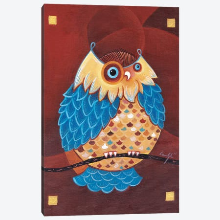 Lake Ladoga Owl I Canvas Print #CBG14} by Martin Cambriglia Canvas Art Print