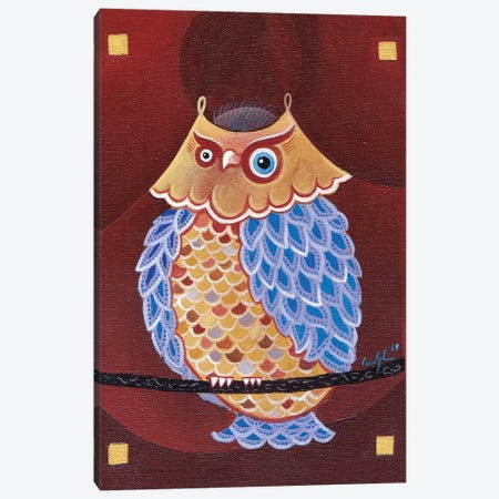 Lake Ladoga Owl II Canvas Print #CBG15} by Martin Cambriglia Canvas Art Print