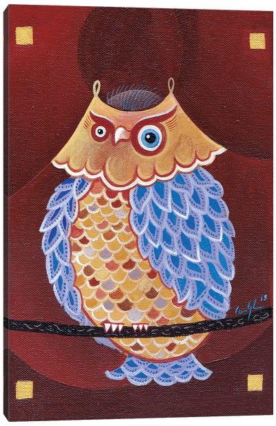 Lake Ladoga Owl II Canvas Art Print