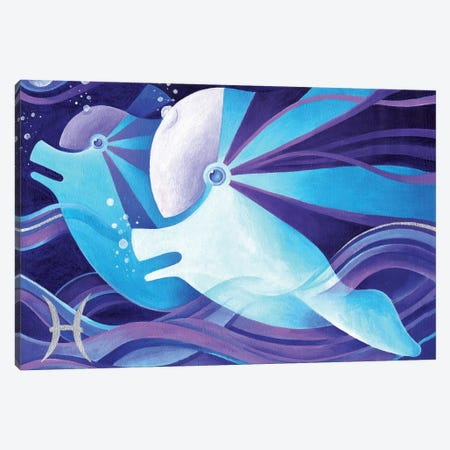 Pisces Canvas Print #CBG19} by Martin Cambriglia Canvas Art
