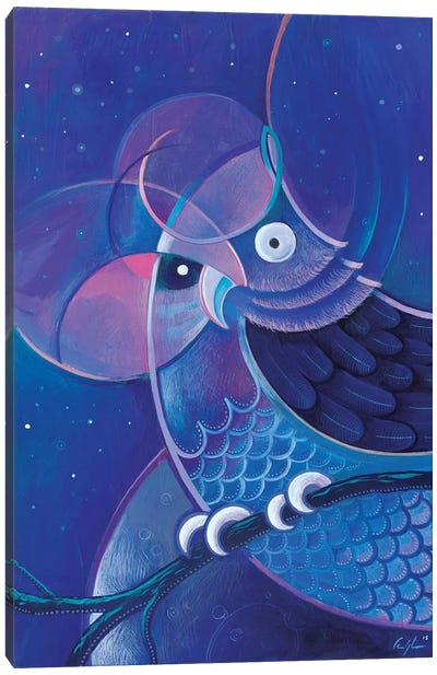 Alchemic Owl Canvas Art Print