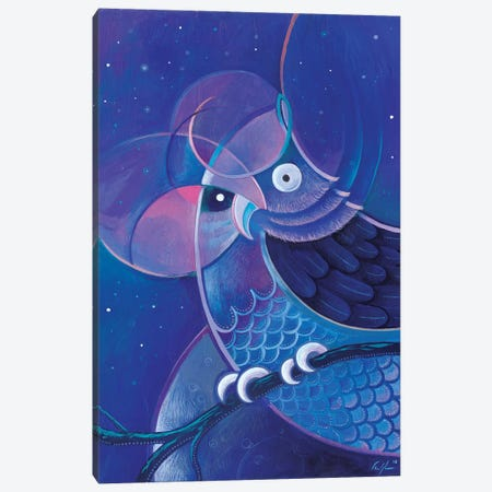 Alchemic Owl Canvas Print #CBG1} by Martin Cambriglia Canvas Artwork