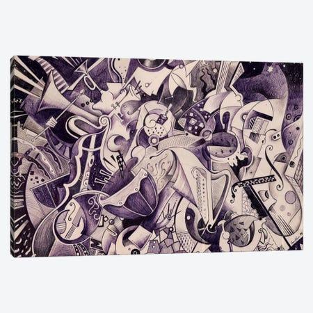 V Symphony By Gustav Mahler Canvas Print #CBG35} by Martin Cambriglia Canvas Print