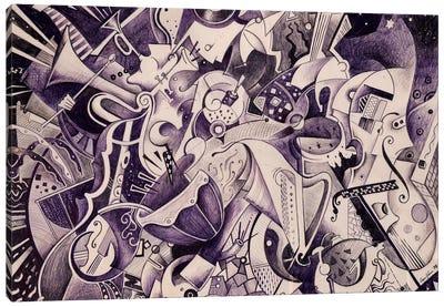 V Symphony By Gustav Mahler Canvas Art Print