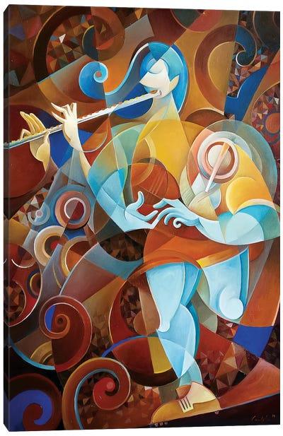 Chiara And Riccardo Canvas Art Print