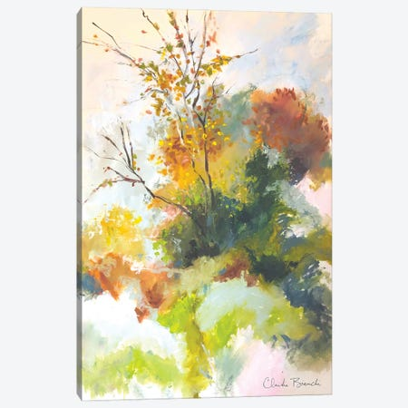 Misty Fall Canvas Print #CBI105} by Claudia Bianchi Canvas Print