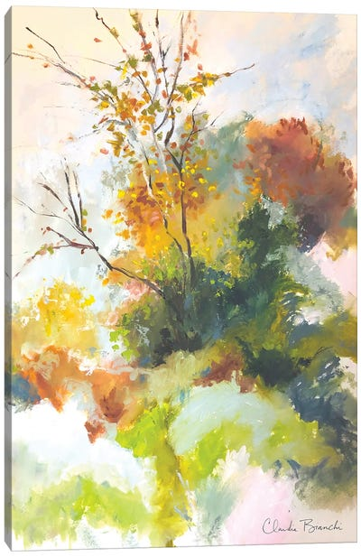 Misty Fall Canvas Art Print