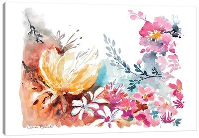 Blossom Spray Canvas Art Print