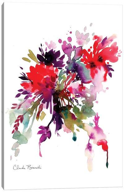Bright Floral Canvas Art Print