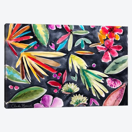 Cactus II Canvas Print #CBI19} by Claudia Bianchi Canvas Art