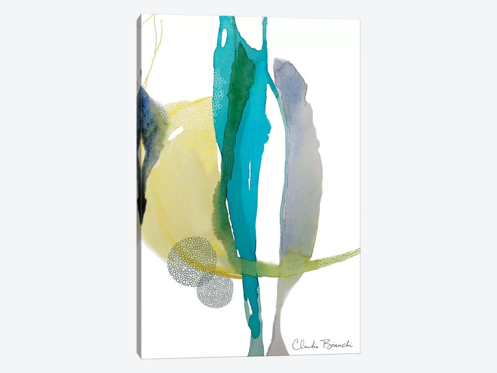 Desert Moon (Terrain Series) by Claudia Bianchi 1-piece Canvas Artwork