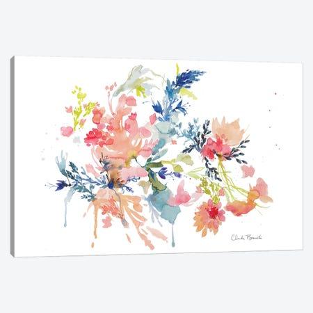 Floral Clouds Canvas Print #CBI27} by Claudia Bianchi Canvas Artwork