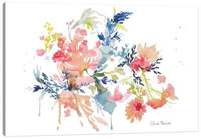 Floral Clouds Canvas Art Print