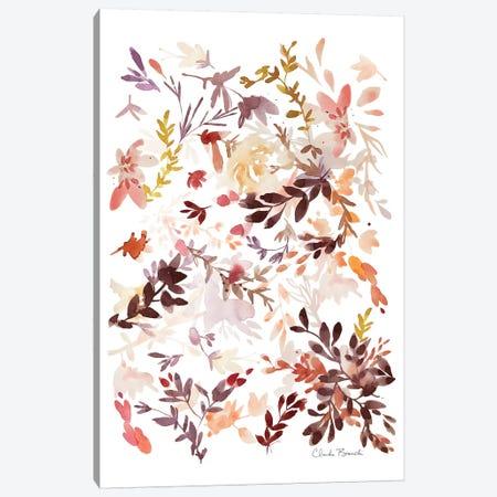 Leaf Scatter I Canvas Print #CBI34} by Claudia Bianchi Canvas Print