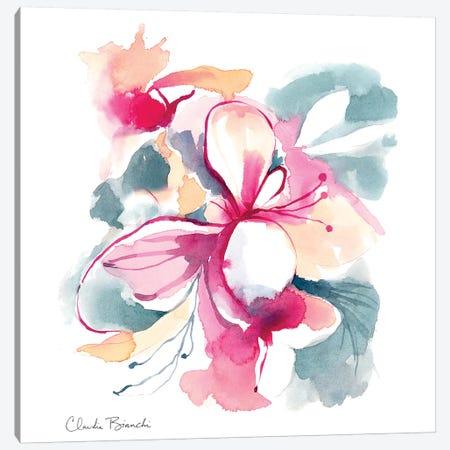 Orchidees III Canvas Print #CBI49} by Claudia Bianchi Canvas Art Print