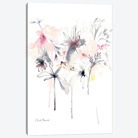 Pink Scatter Canvas Print #CBI54} by Claudia Bianchi Art Print