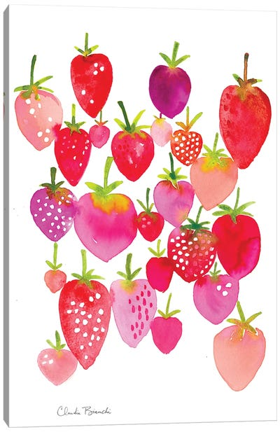 Strawberry Fields Canvas Art Print