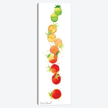 Tomato Ombre Canvas Print #CBI77} by Claudia Bianchi Art Print