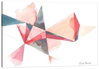 Trianglular Prism Canvas Art Print