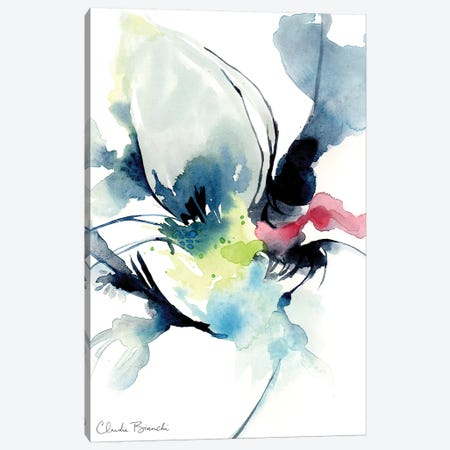Black Swan Canvas Print #CBI9} by Claudia Bianchi Canvas Art
