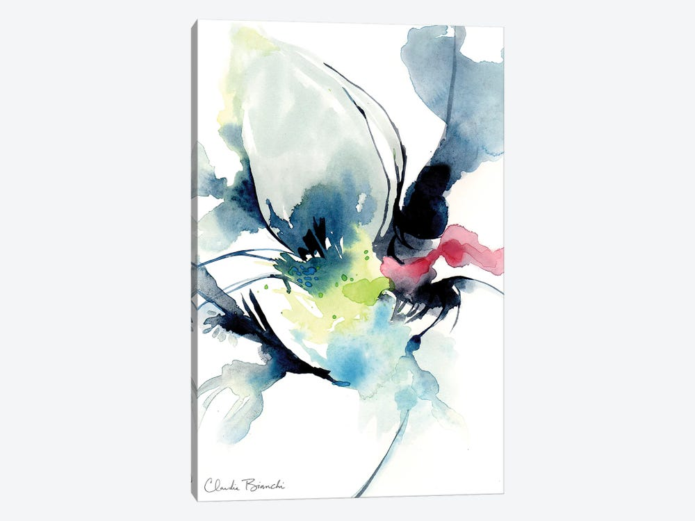 Black Swan by Claudia Bianchi 1-piece Canvas Art