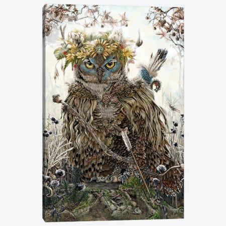 Garnock King Of The Woodlands Canvas Print #CBK10} by Cheryl Baker Canvas Artwork