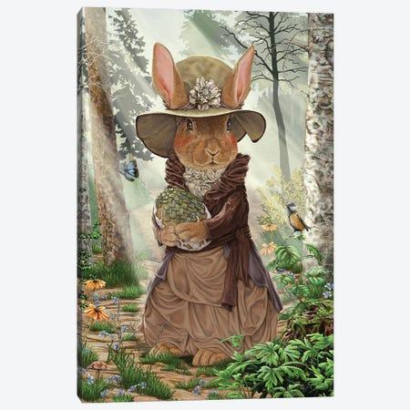 Miss Tittles Canvas Print #CBK11} by Cheryl Baker Canvas Wall Art