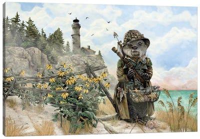 Sir Walter Whimsley Canvas Art Print