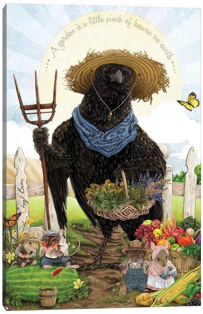 The Crow Of Shepherd Hills Canvas Art Print