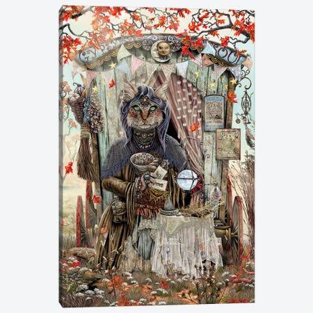 The Gypsy Fortune Teller Canvas Print #CBK21} by Cheryl Baker Art Print