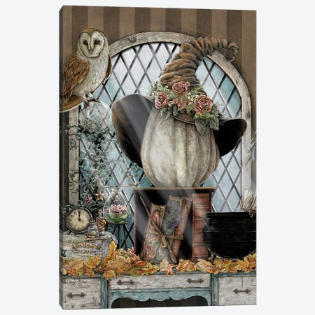 The Witching Hour Canvas Print #CBK25} by Cheryl Baker Canvas Artwork
