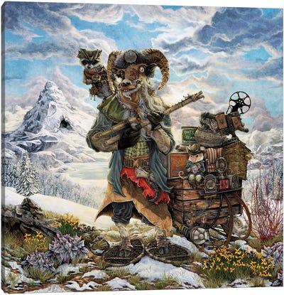 The Yeti Trapper Canvas Art Print