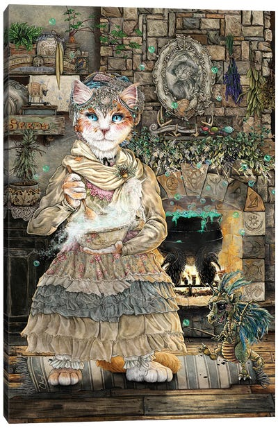 Tilly Thislewood Canvas Art Print