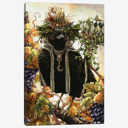 Autumn Sage Canvas Print #CBK4} by Cheryl Baker Art Print