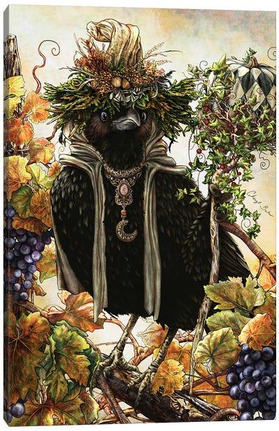 Autumn Sage Canvas Art Print