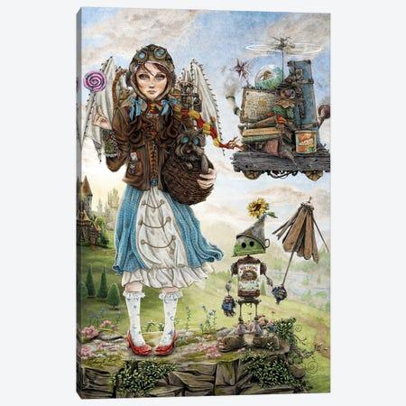 Dorothy Goes To A Magical School Canvas Print #CBK7} by Cheryl Baker Art Print