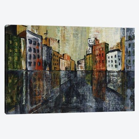 Metro I 3-Piece Canvas #CBL10} by Carol Black Canvas Art Print