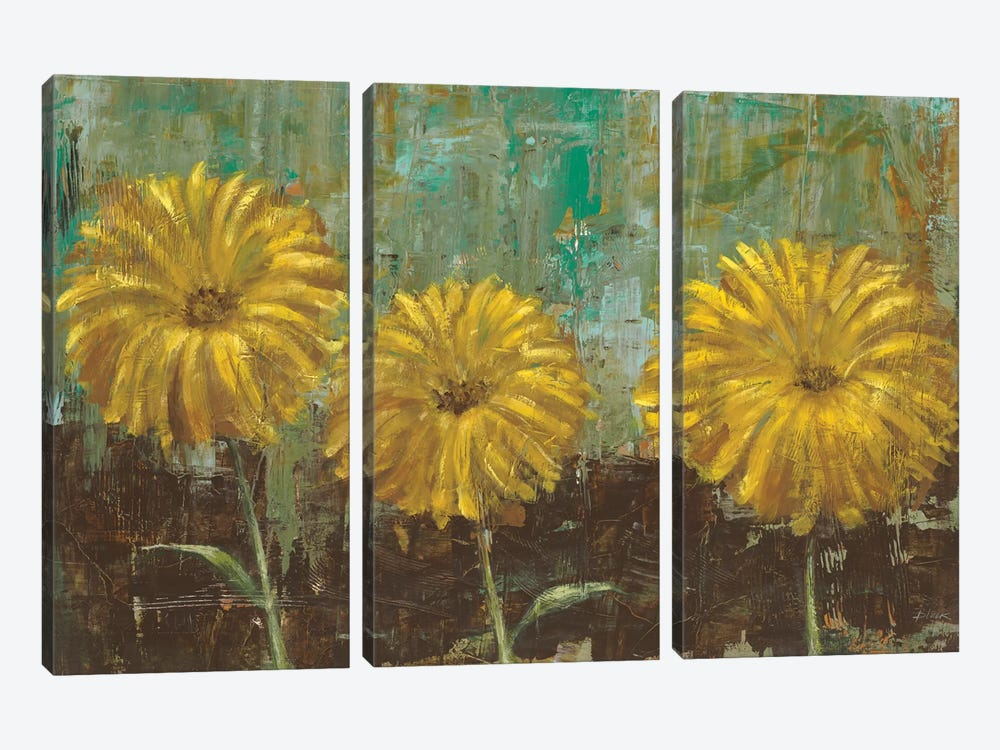 Morning Gold II 3-piece Canvas Art