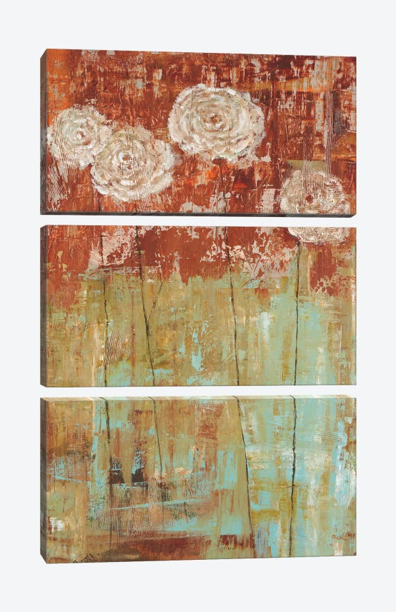 Summer Dream I by Carol Black 3-piece Canvas Art Print